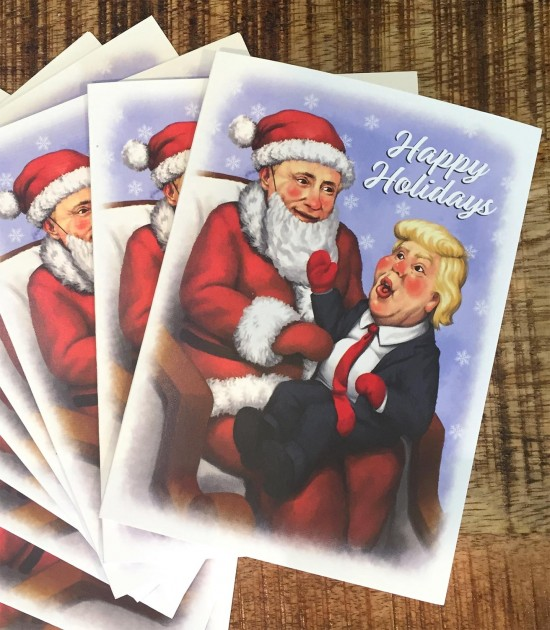 Lil' Donny & Puti-Claus Greeting Card 10-Pack