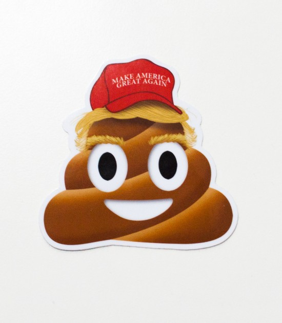 Donald J. Turd Sticker