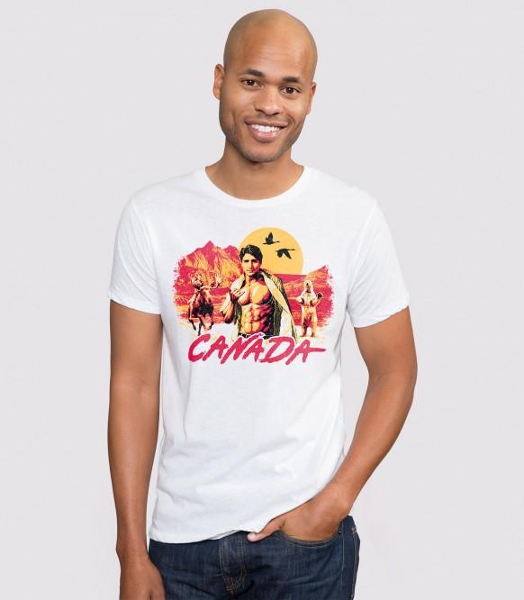 a7238a116 Canada Men's Funny Justin Trudeau T-Shirt | Headline Shirts