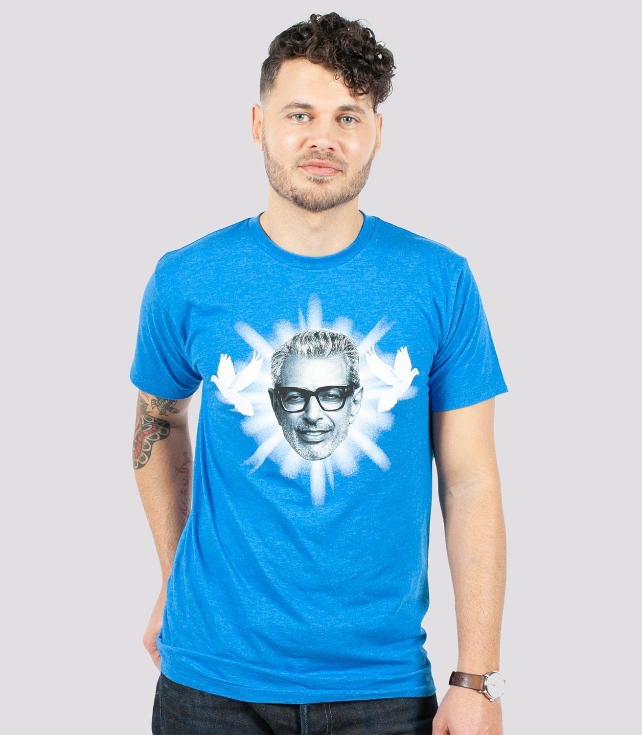 ec8737d9 Zen Goldblum Funny Men's Cotton/Poly T-Shirt   Headline Shirts