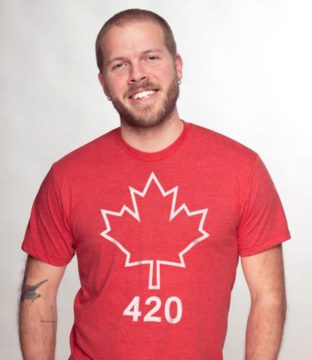 87c1ddba Canadian Flag 420 T-Shirt | Headline Shirts