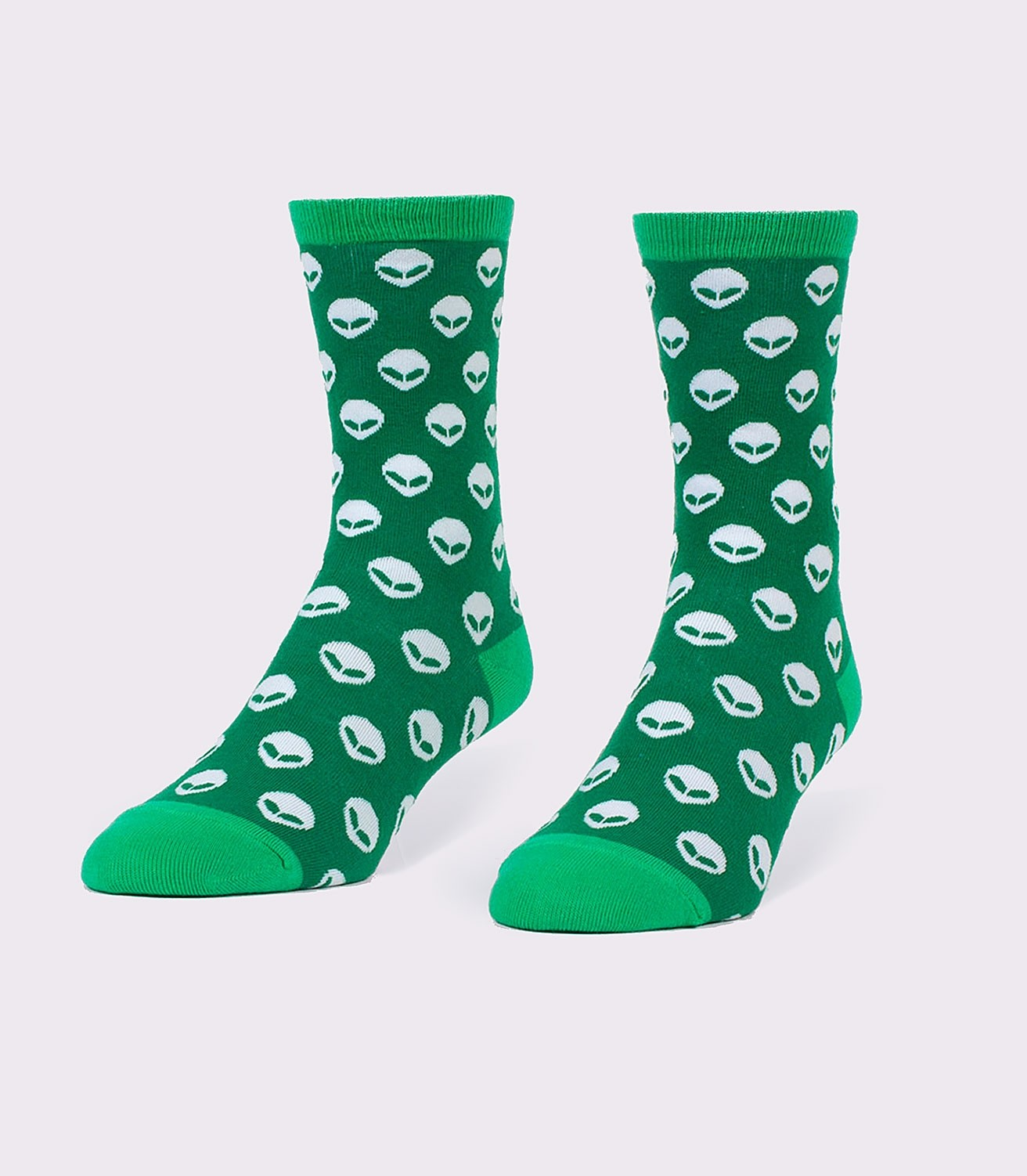 647499f50dc6 Aliens Funny UFO Pattern Women's Socks | Headline Shirts