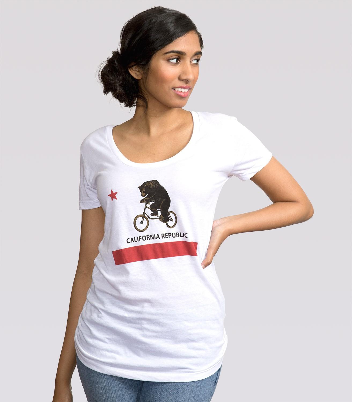 19273c3e California Flag Women's Funny T-Shirt | Headline Shirts