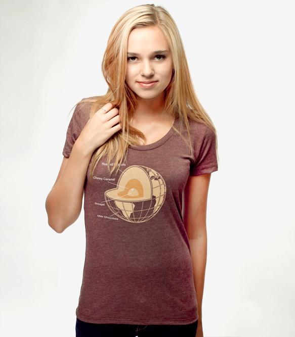 42d55cfa8 Chocolate Earth T-Shirt | Headline Shirts