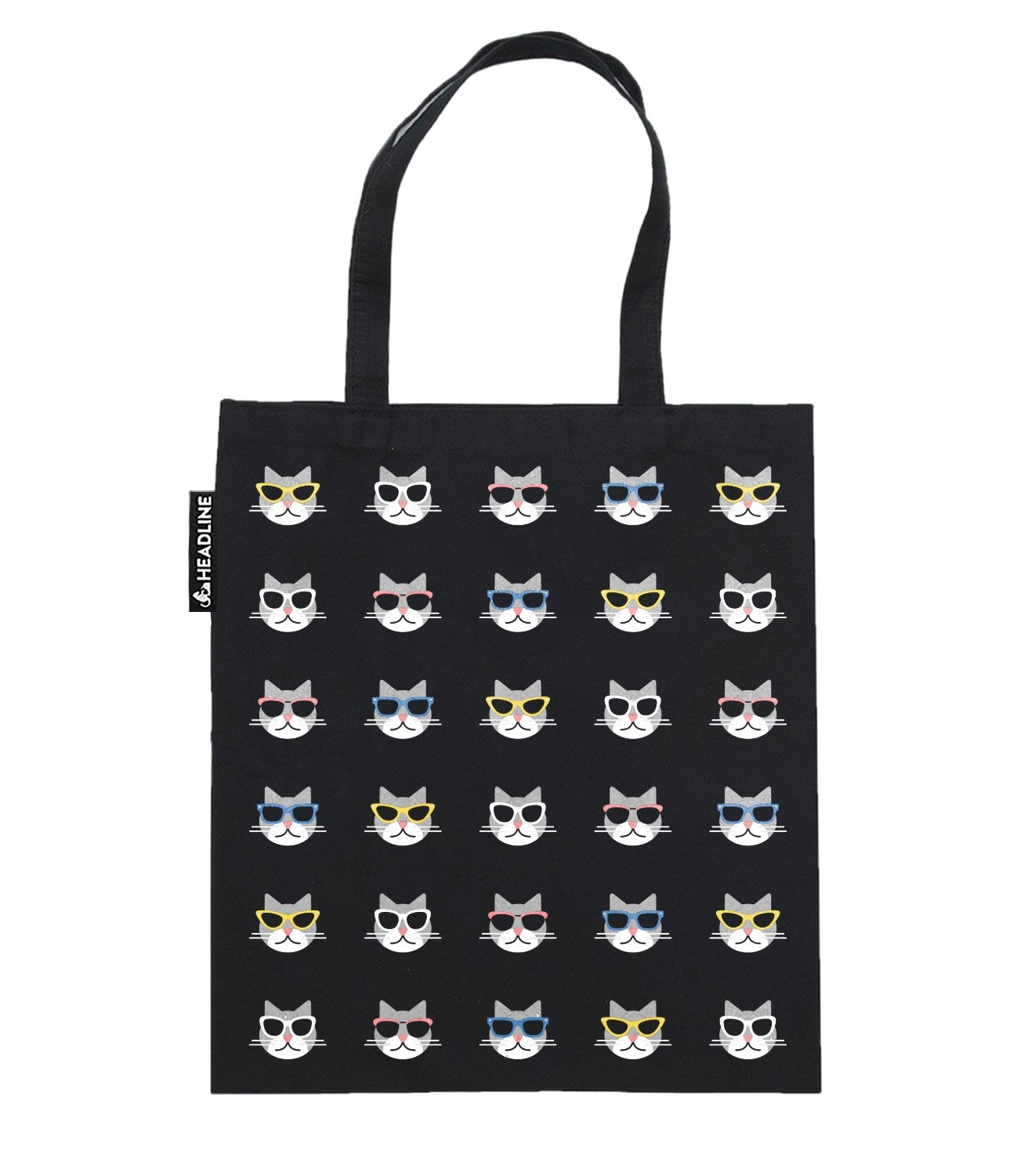 1756d64f77 Cool Cats with Sunglasses Funny Tote Bag | Headline Shirts