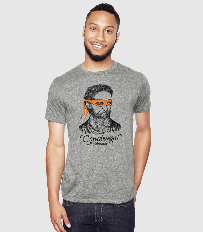 e73c872d Michelangelo T-Shirt | Headline Shirts