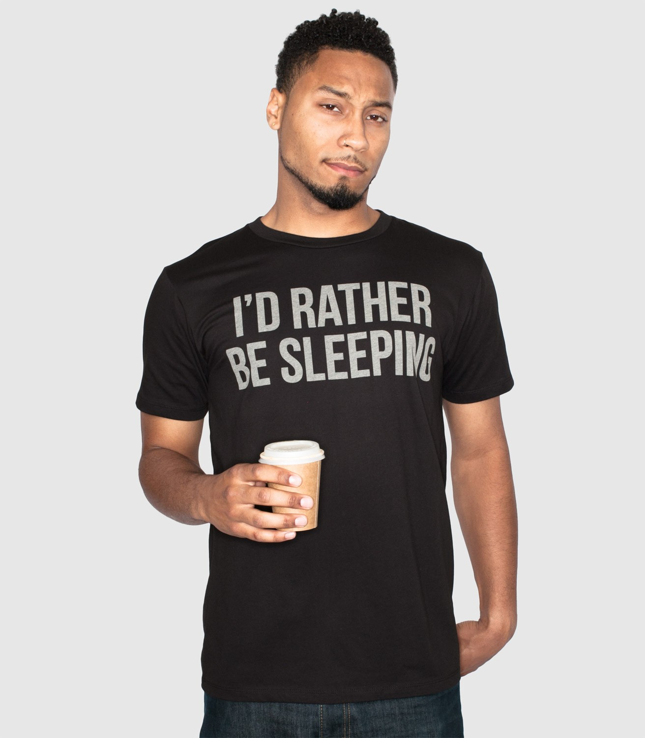 d3ada59c7 I'd Rather Be Sleeping Men's Funny T-Shirt | Headline Shirts
