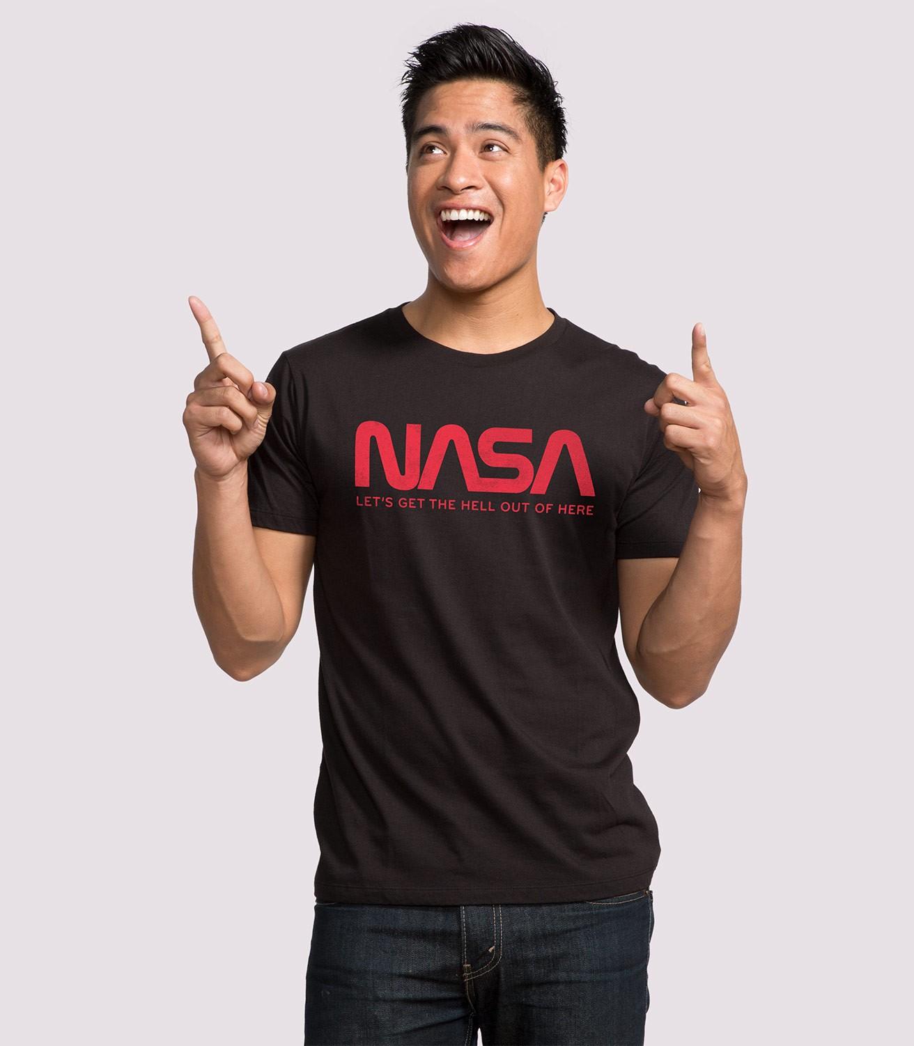 NASA Men's Funny T-Shirt | Headline Shirts