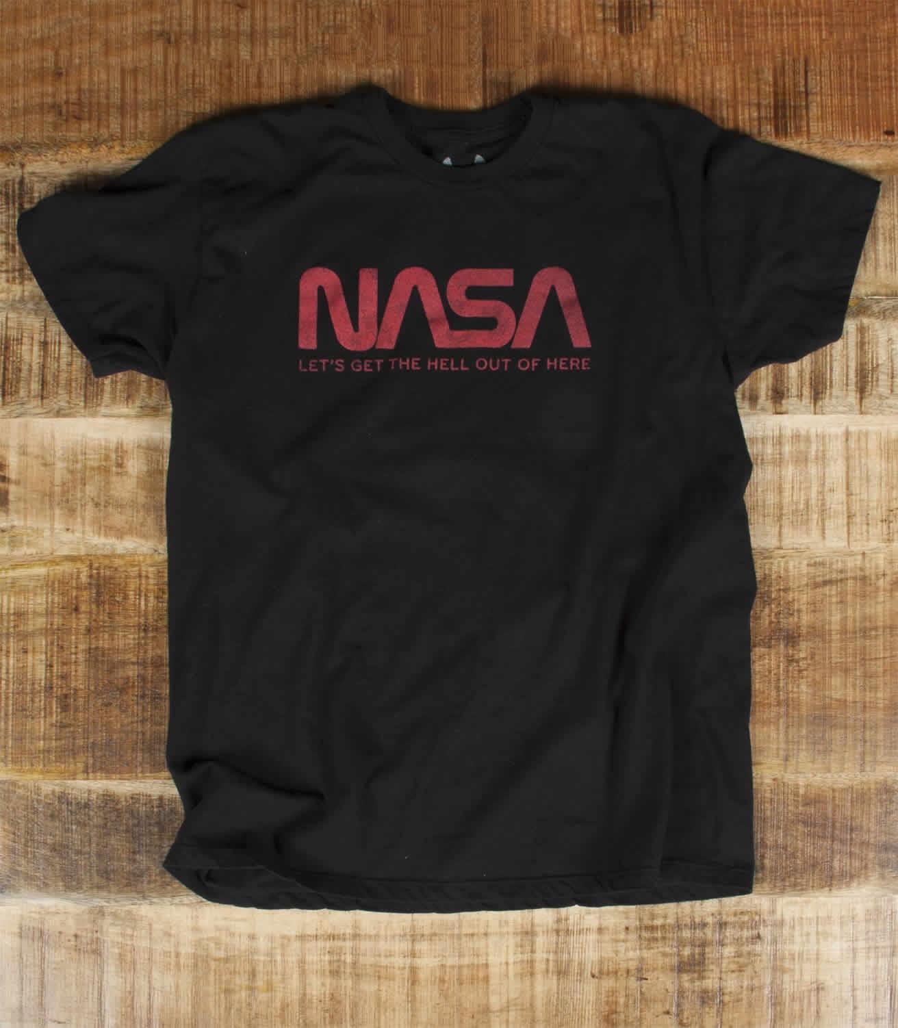 nasa men 39 s funny science t shirt headline shirts. Black Bedroom Furniture Sets. Home Design Ideas