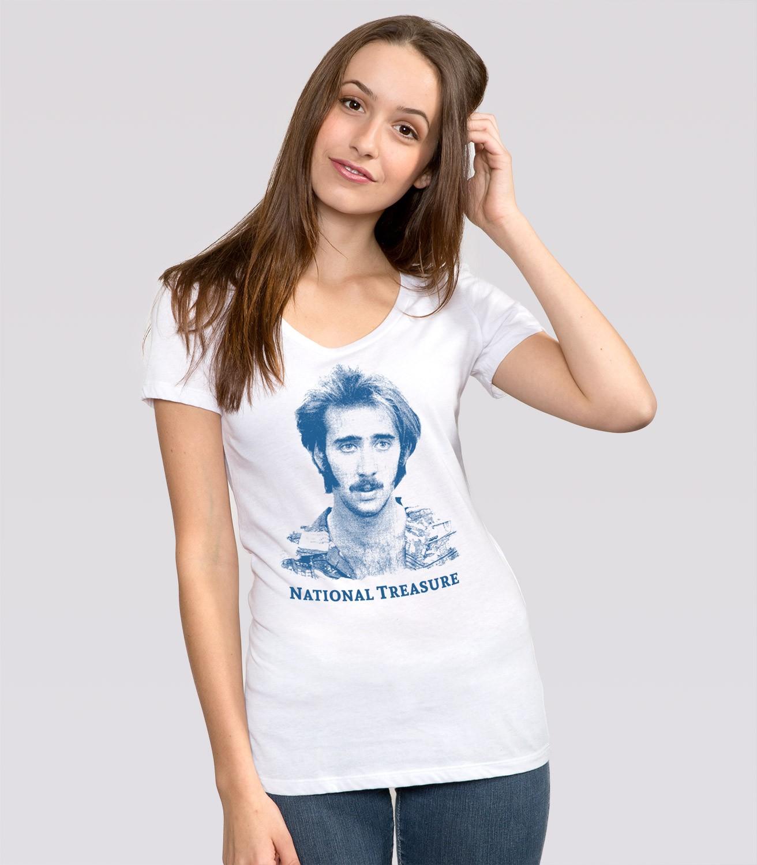 National Treasure Women's Funny T-Shirt | Headline Shirts