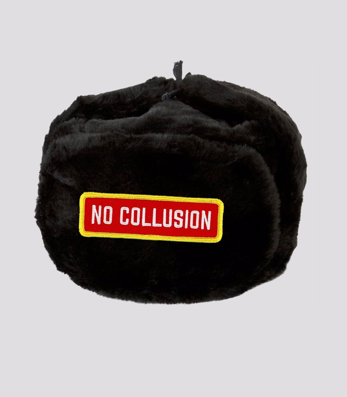 6c5f0c0bf NO COLLUSION Ushanka Hat