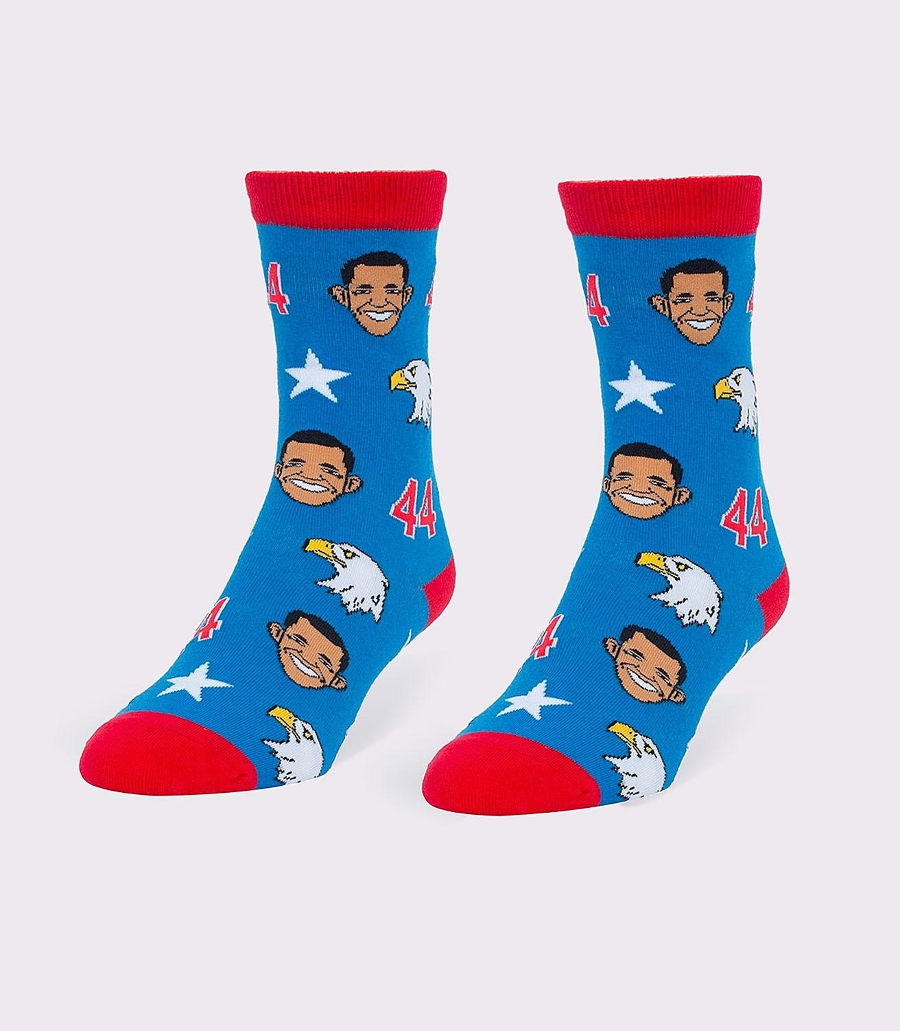 79205dea Obamas & Eagles Women's Socks