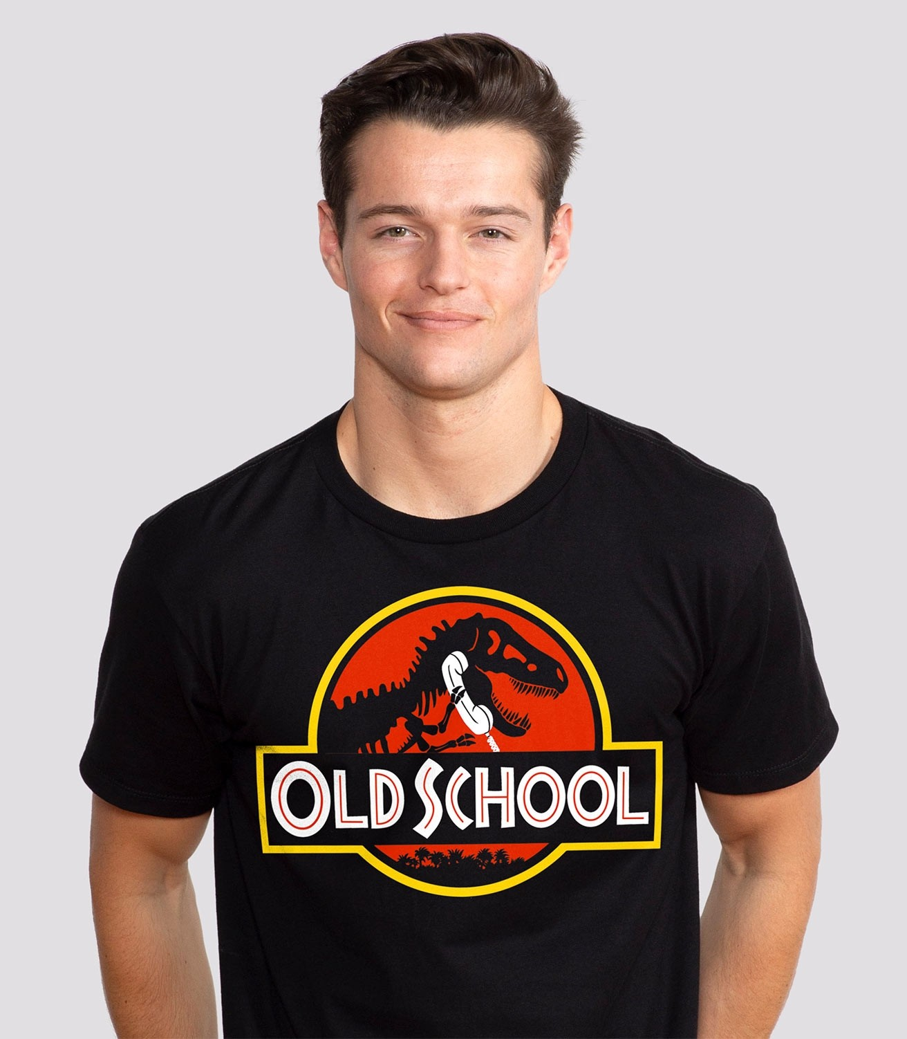 5ef0e351 Old School Funny Men's 100% Cotton T-Shirt   Headline Shirts