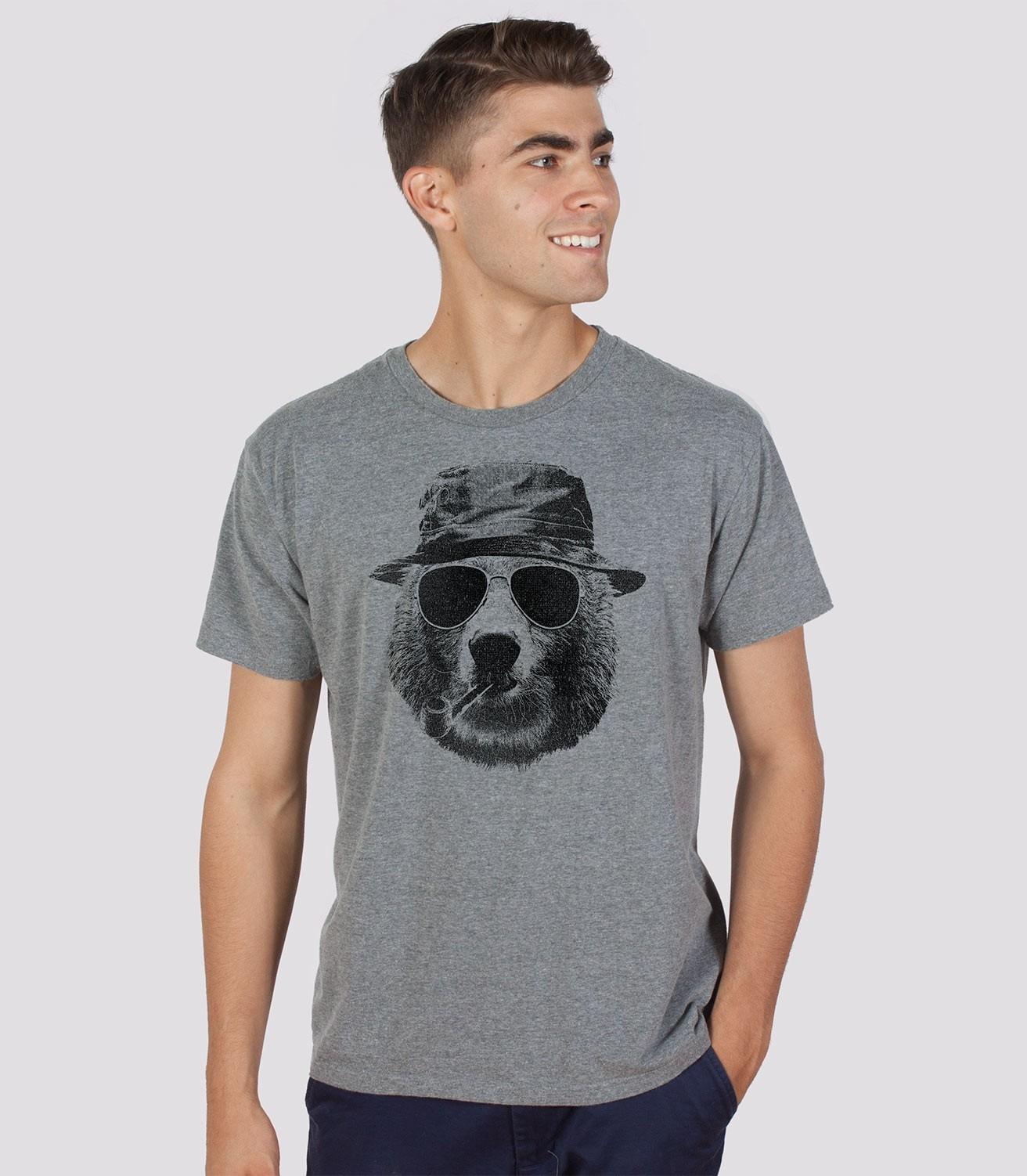 5169b44a2d Leisure Bear Men's Funny Camping T-Shirt | Headline Shirts