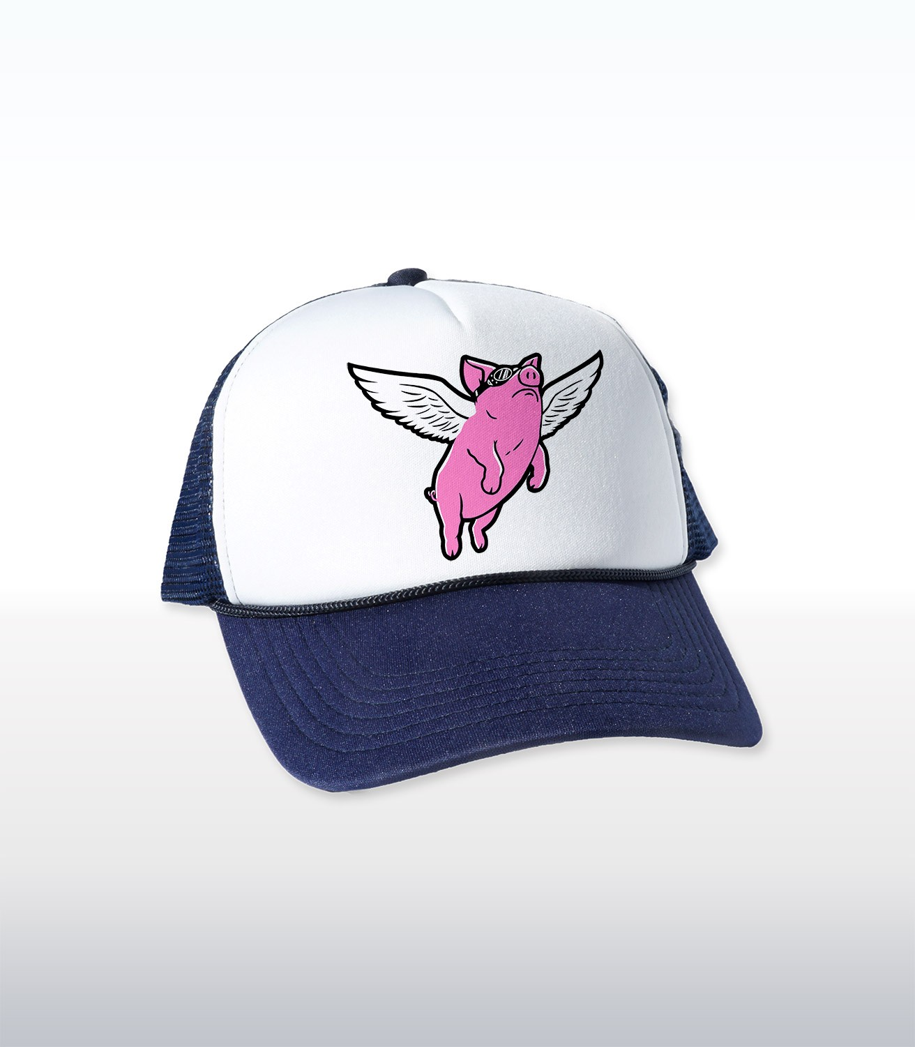 Flying Pig Cap Headline Shirts