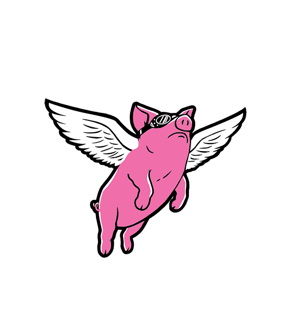 Flying Pig Cap | Headline Shirts