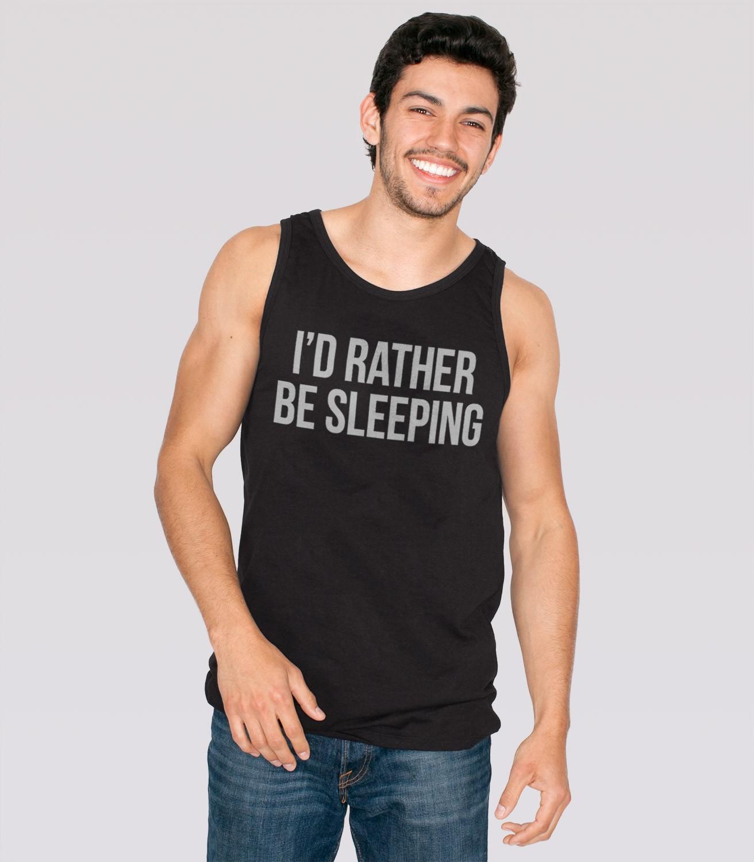 I\'d Rather Be Sleeping Men\'s Tank Top | Headline Shirts