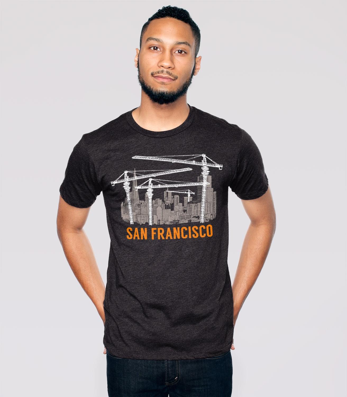 San francisco men 39 s funny t shirt headline shirts for San francisco custom shirts