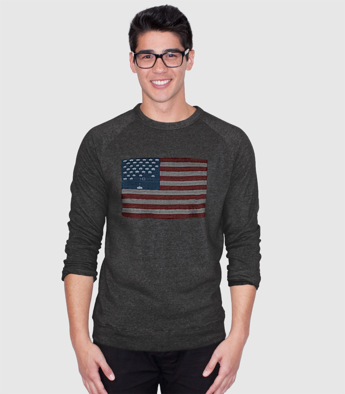 f0f64740 Space Invaders Flag T-Shirt | Headline Shirts