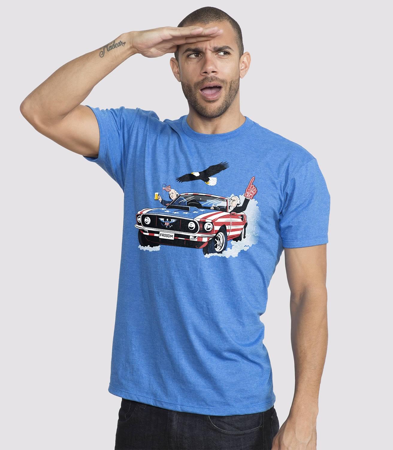 e6af7f8c USA! USA! USA! Men's Funny T-Shirt   Headline Shirts