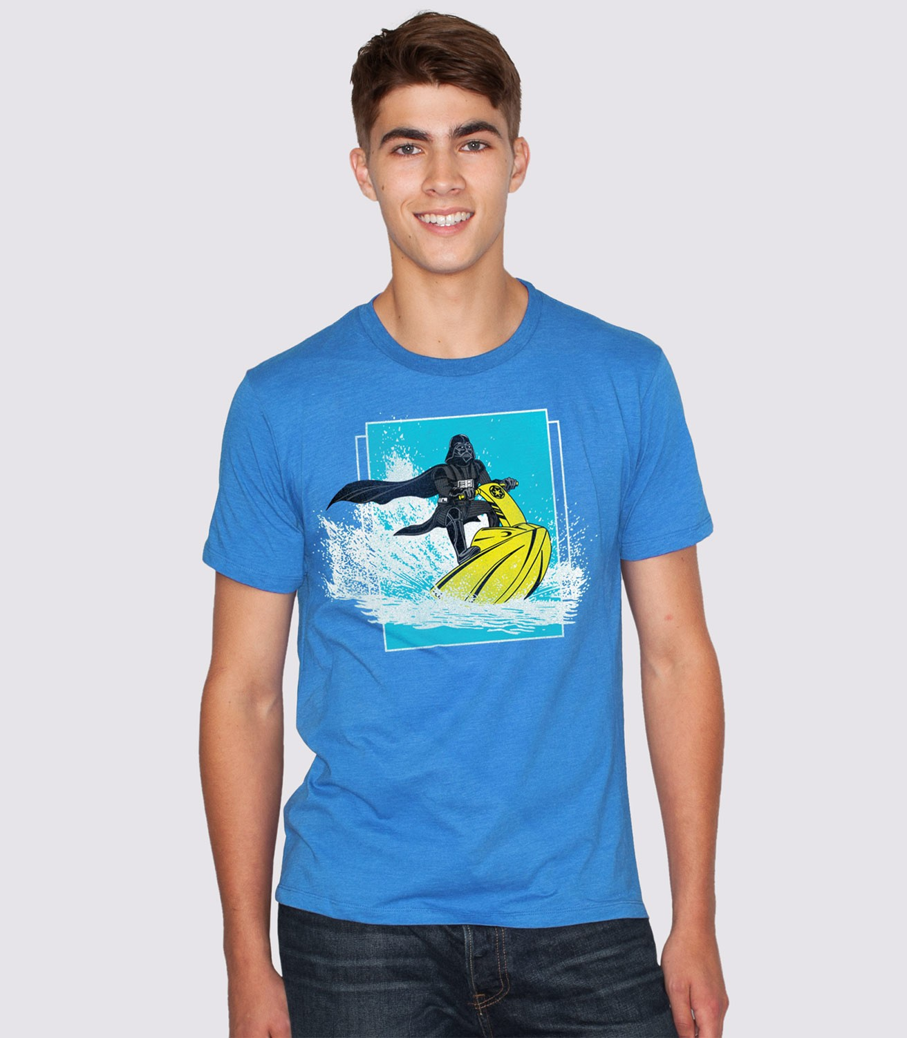 10bb2cd048 Return of the Jet Ski Men's Funny Darth Vader T-Shirt   Headline Shirts