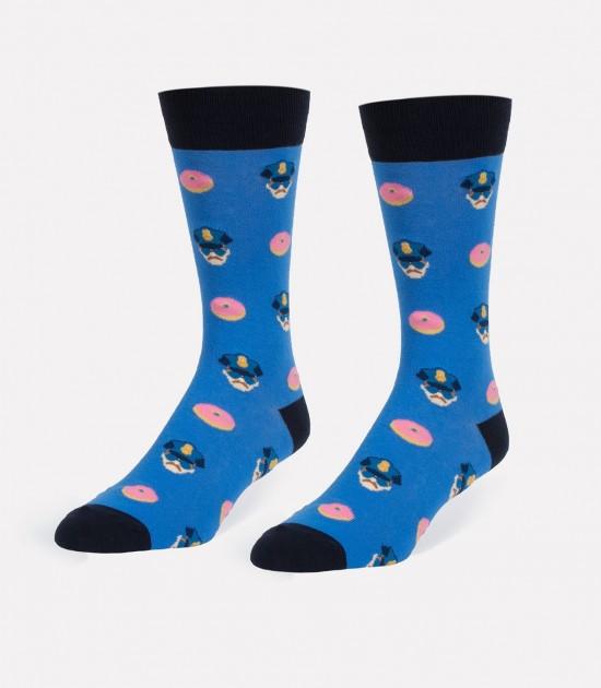 Cops & Donuts Men's Socks