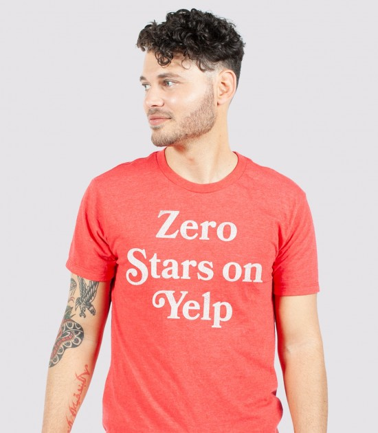 Zero Stars on Yelp