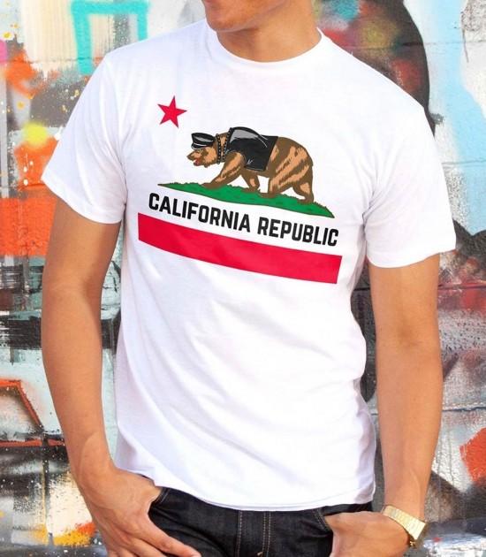 California Pride Bear