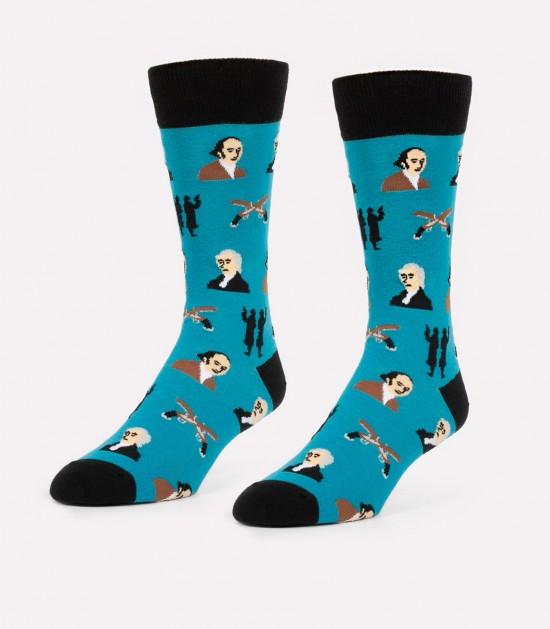 Hamilton vs. Burr Men's Socks