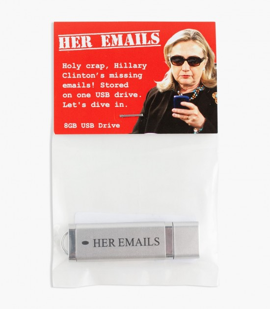 Her Emails USB Drive