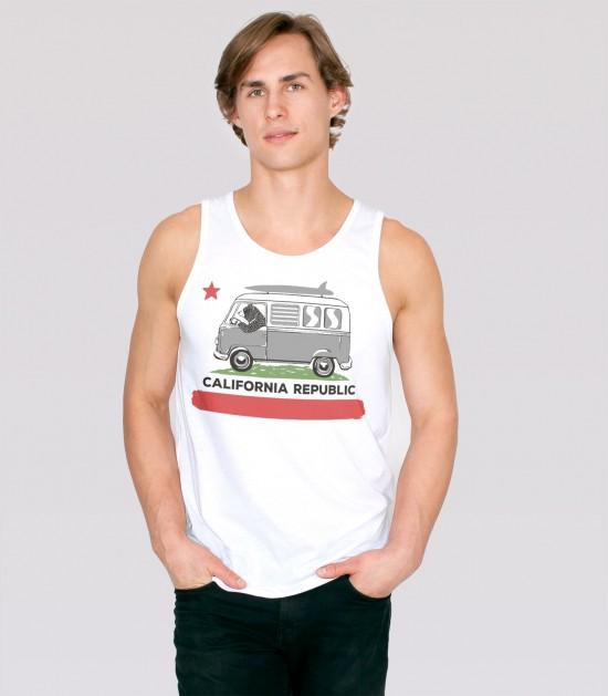 Surfer Bear Tank