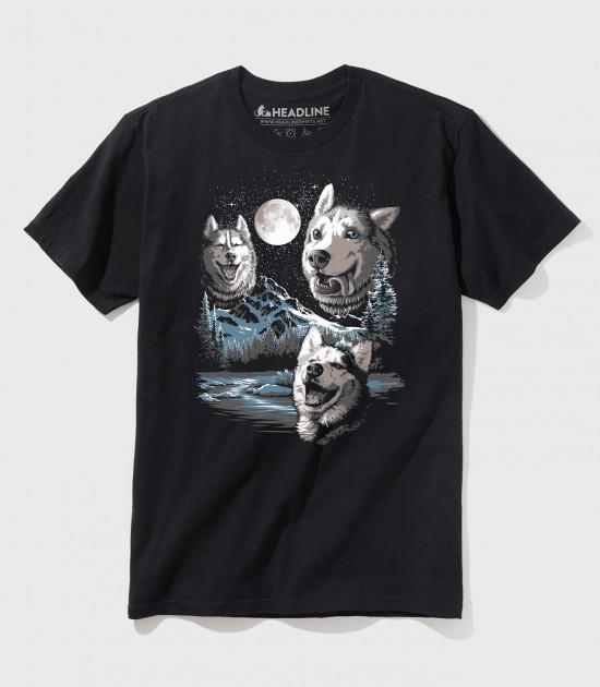 Three Derp Huskies