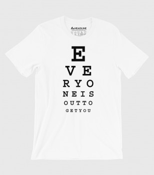 Subliminal Eye Chart