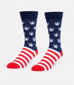 United We(ed) Stand Men's Socks