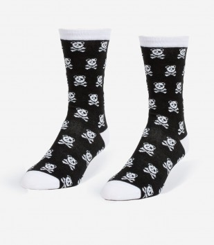 Pandas & Crossbones Women's Socks