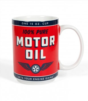 Can of Motor Oil Mug