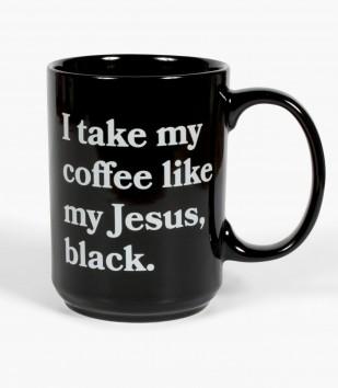 Black Jesus Mug