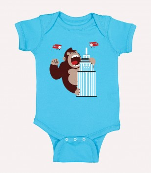 Hard Out There for a Chimp Onesie