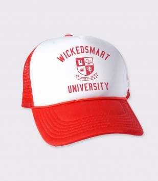 Wickedsmart University Trucker Cap
