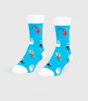 Stuck Cats Unisex Small Socks