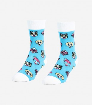 Dogs With Sunglasses Unisex Small Socks
