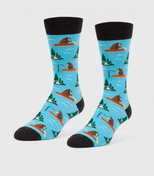 Gone Fishing Unisex L/XL Socks
