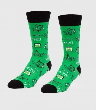 It's 4:20 Somewhere Unisex L/XL Socks
