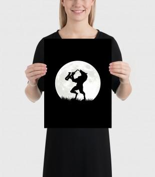 Werewolf Sax Solo Poster