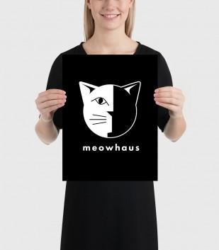 Meowhaus Poster