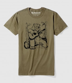 Acoustic Guitar Bear