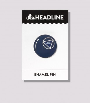 Apathetic 8 Ball Enamel Pin