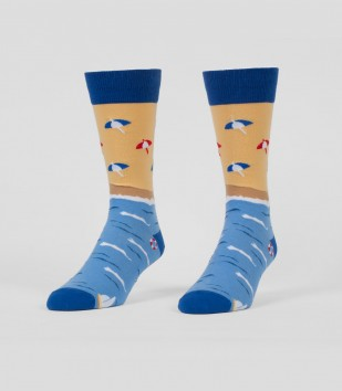 Beach Men's Socks