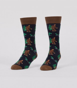 Bigfoot & Nessie Men's Socks