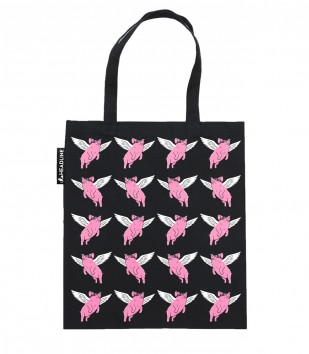 Flying Pigs Tote Bag